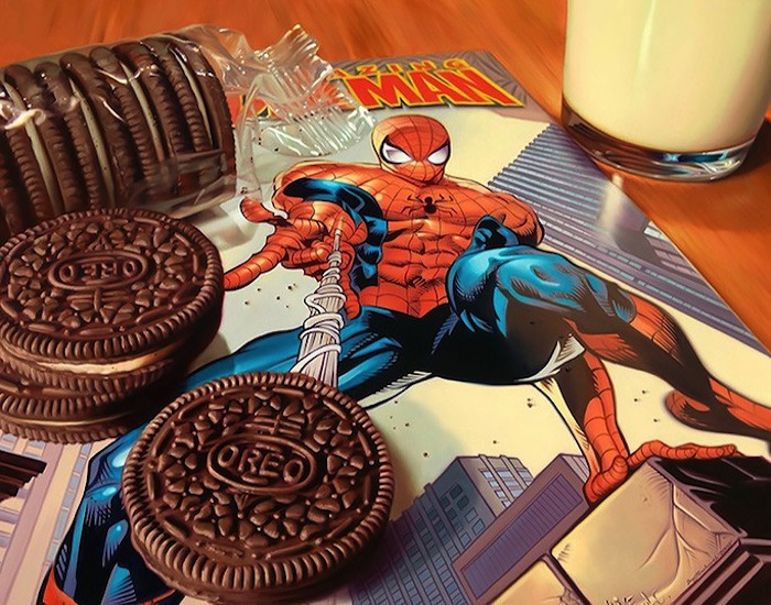 Hyper_Realistic_Paintings_Of_Old_School_Snacks_And_Comics_2014_07