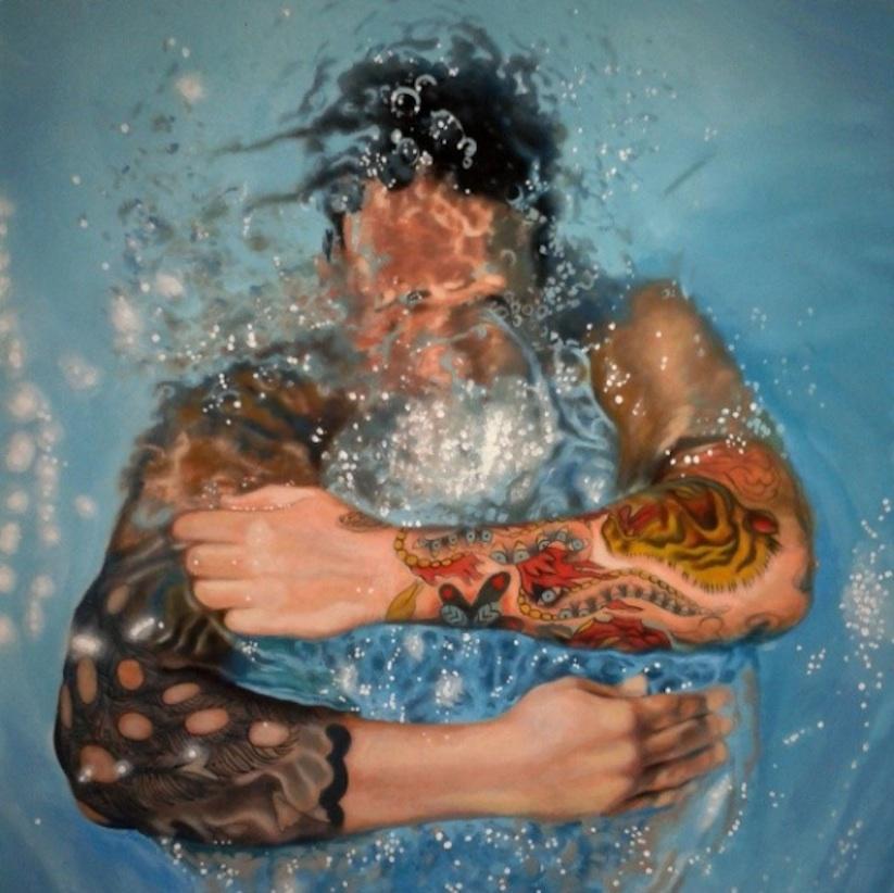 Hyperrealistic_Oil_Paintings_Of_People_Swimming_by_Gustavo_Silva_Nunez_2014_07
