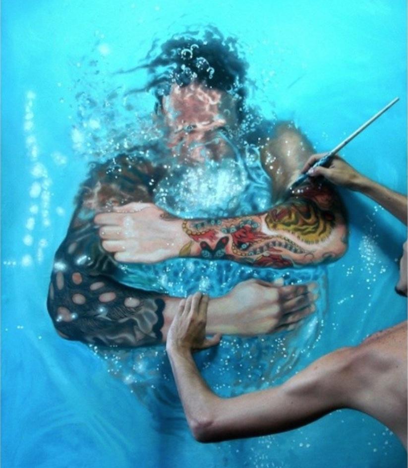 Hyperrealistic_Oil_Paintings_Of_People_Swimming_by_Gustavo_Silva_Nunez_2014_08