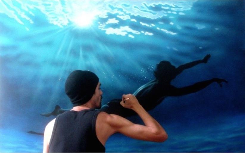 Hyperrealistic_Oil_Paintings_Of_People_Swimming_by_Gustavo_Silva_Nunez_2014_12