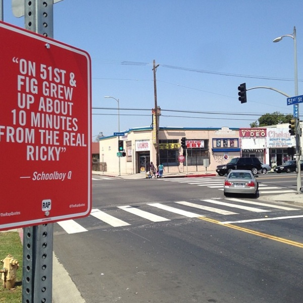 New _RAP_QUOTES_Signs_on_Original_Locations_in_Los Angeles_2014_08