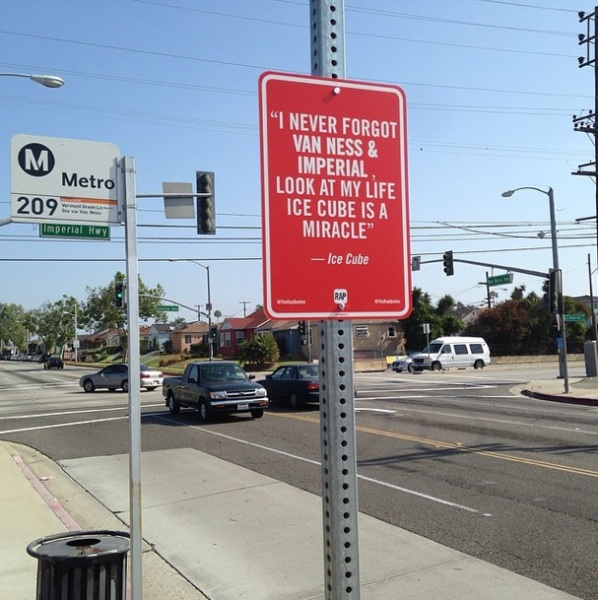 New _RAP_QUOTES_Signs_on_Original_Locations_in_Los Angeles_2014_09