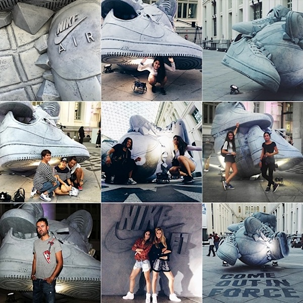 Nike _Come_Out_In_Force_Sneakerball_Sculpture_in_Madrid_Spain_2014_06
