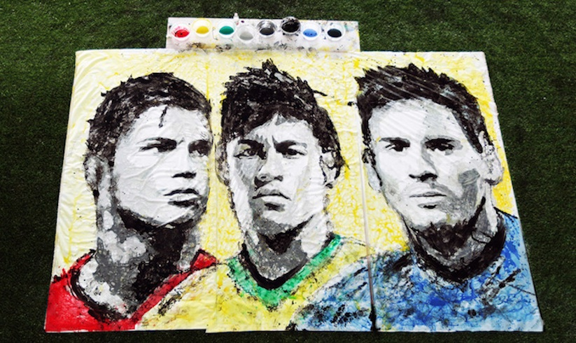 Portraits_of_World_Cup_Superstars_Painted_Only_By_Feet_and_Soccer_Ball_2014_01