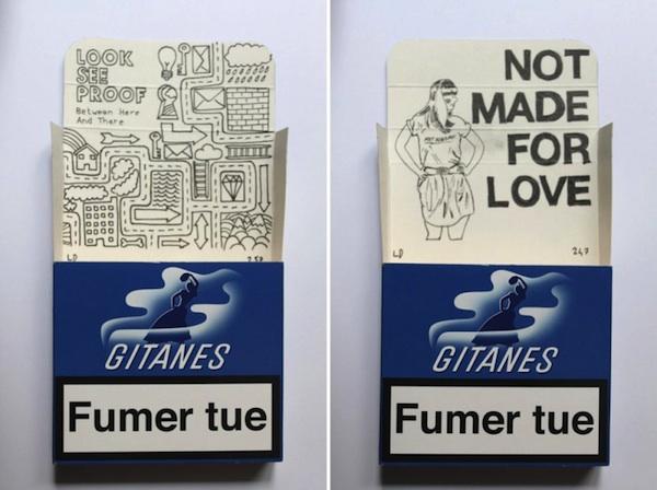 Smoke_Signals_Drawings_on_Gitanes_Cigarette_Packs_by_Leo_Dorfner_2014_06