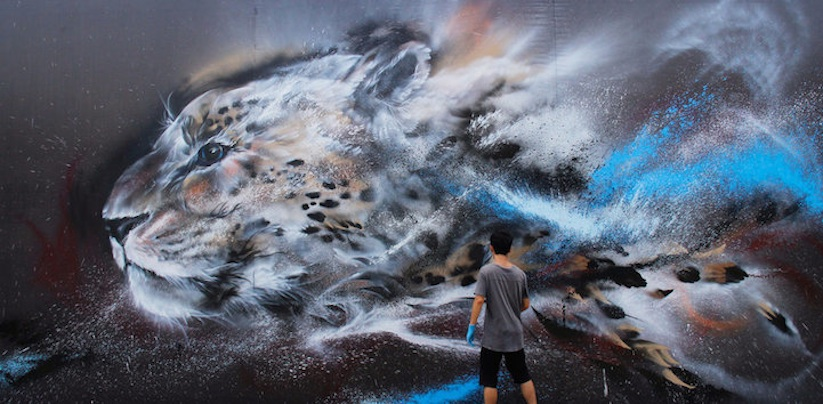 Splatter_Ink_Cheetah_Mural_by_Hua_Tunan_2014_01