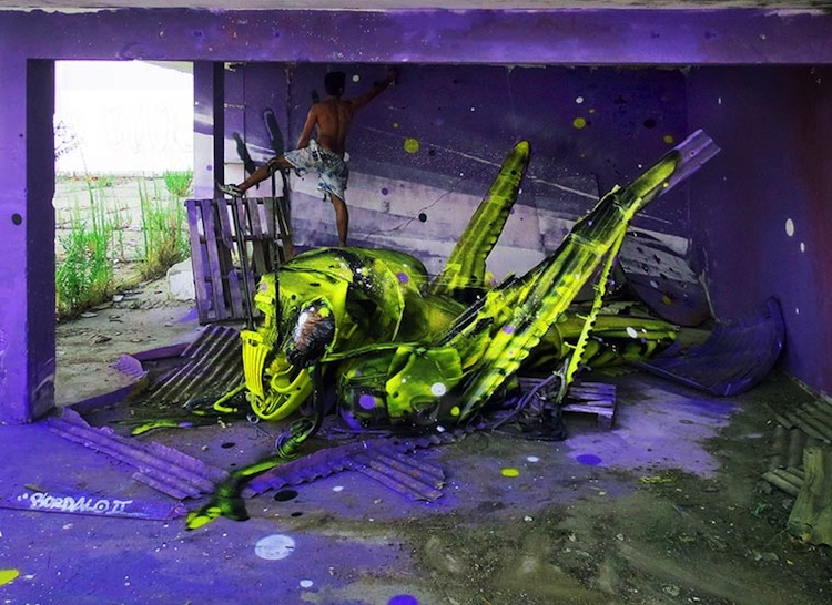 Stunning_3D_Creations_Made_Out_of_Trash_by _Bordalo_II_in_Lisbon_Portugal_2014_01