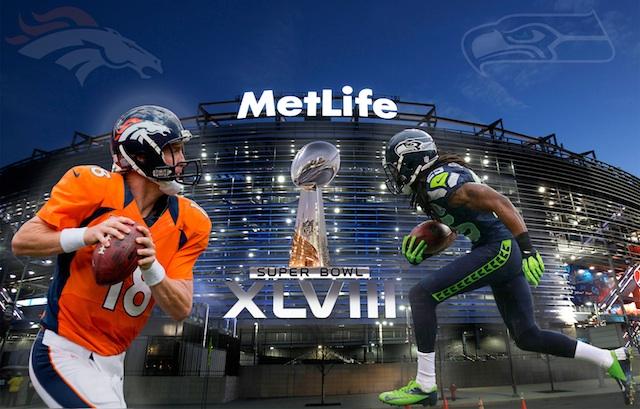 Super-Bowl-2014-XLVIII-Seahawks-Sherman-vs-Broncos-poster