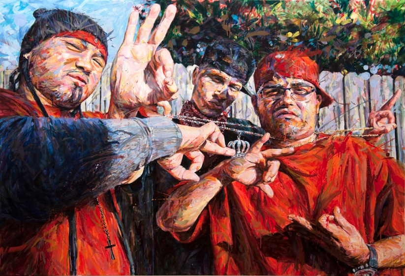THIS_CRAZY_LIFE_Figurative_Paintings_Of_Gang_Members_by_Michael_Vasquez_2014_02