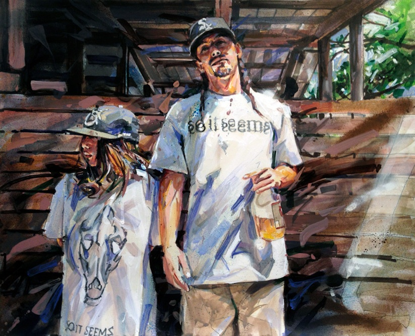 THIS_CRAZY_LIFE_Figurative_Paintings_Of_Gang_Members_by_Michael_Vasquez_2014_05