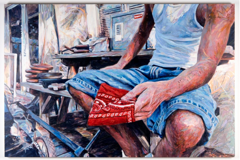 THIS_CRAZY_LIFE_Figurative_Paintings_Of_Gang_Members_by_Michael_Vasquez_2014_07