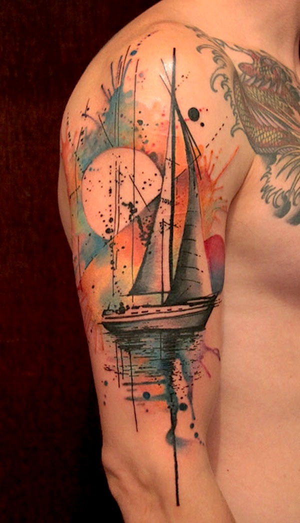 Thrilling_Tattoos_inspired_by_Streetart_Stencils_Watercolor_Art_2014_03