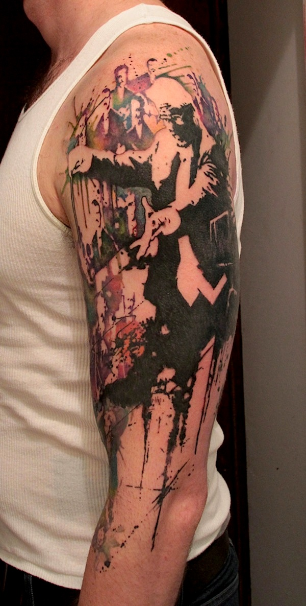 Thrilling_Tattoos_inspired_by_Streetart_Stencils_Watercolor_Art_2014_04
