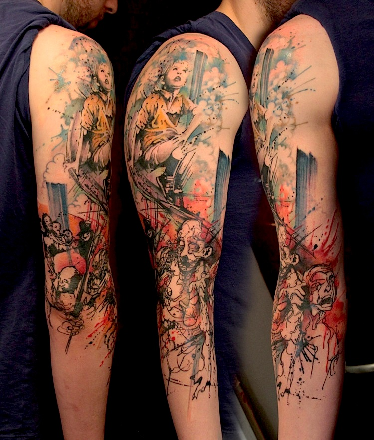 Thrilling_Tattoos_inspired_by_Streetart_Stencils_Watercolor_Art_2014_08