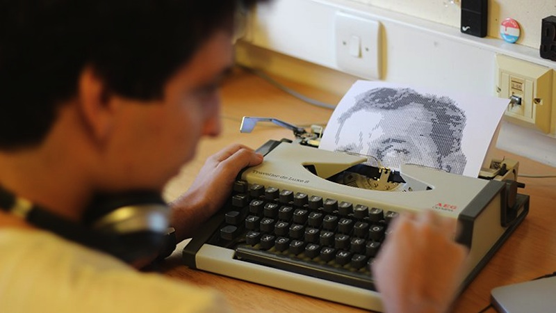 Typewritten_Portraits_BW_Portraits_Of_Literary_Authors_Created_With_A_Typewriter_2014_03
