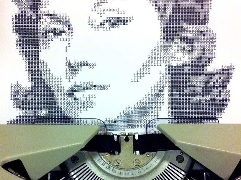Typewritten_Portraits_BW_Portraits_Of_Literary_Authors_Created_With_A_Typewriter_2014_07