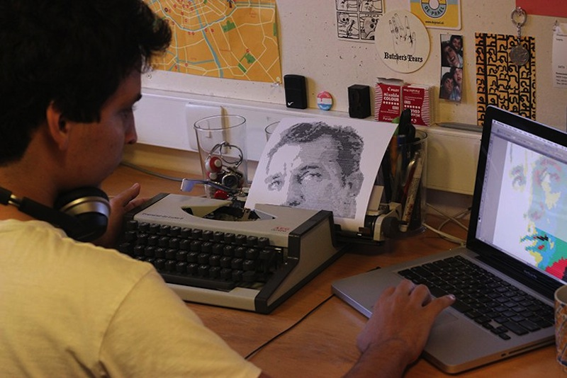 Typewritten_Portraits_BW_Portraits_Of_Literary_Authors_Created_With_A_Typewriter_2014_10