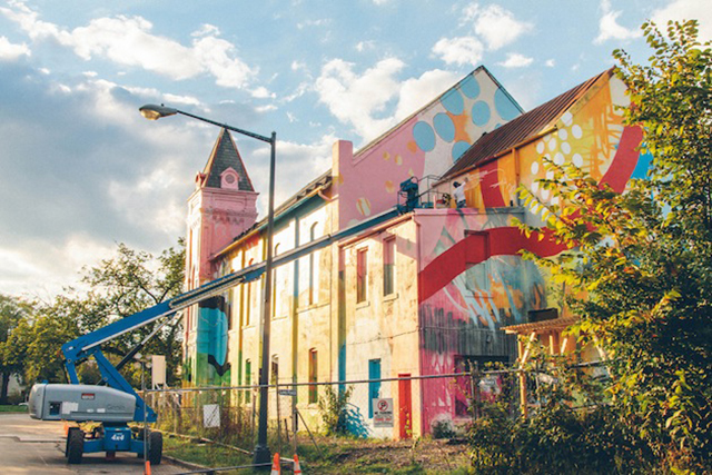 Washington-D.C.-Graffiti-Covered-Church-by-Hense-8