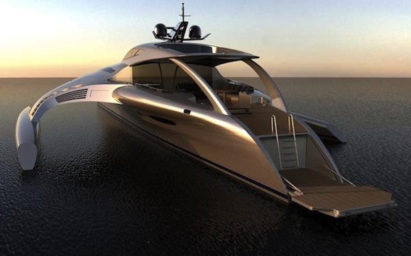 """Modernste yacht der welt  Die """"Adastra""""-Super-Yacht [8 Bilder]"""