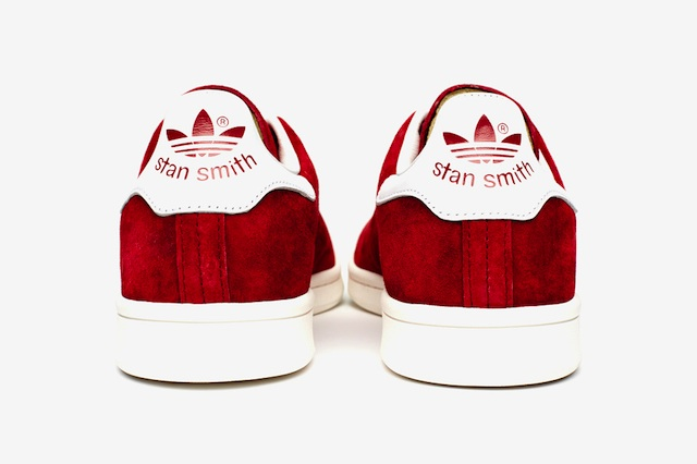 Stan Smith Adidas Rot