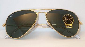 ray ban schwarz gold aviator