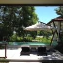 Blick aus der Villa