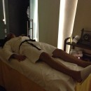 Nach der anstrengenden Spa-Massage :)