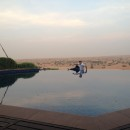"Infinity-Pool der Presidential Suite des ""Al Maha Desert Resort & Spa""."