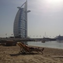 Chillen am Jumeirah Emirates Privatstrand
