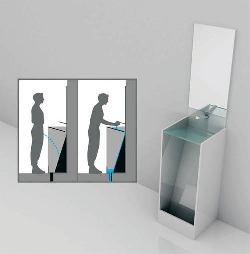 waschen am waschbecken hygiene