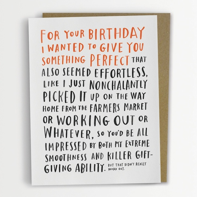 Funny Awkward Greeting Cards by Emily McDowell 6 Pictures – Awkward Valentines Card