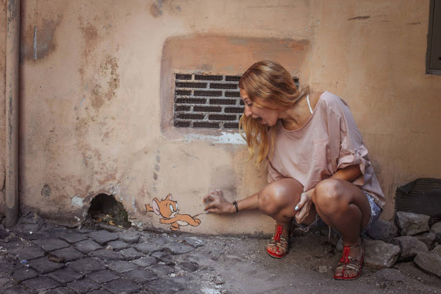 Rome Italy Street Fashion