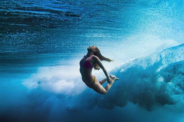 Sarah nude snorkeling 2 - 5 5