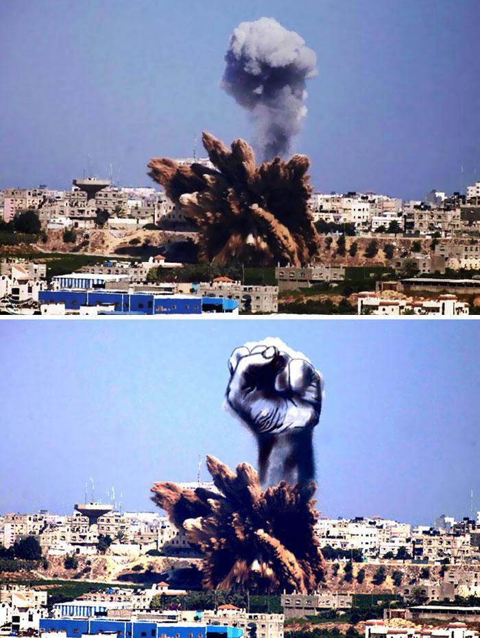 gaza_israel_rocket_smoke_art_01