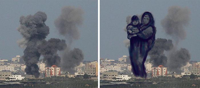 gaza_israel_rocket_smoke_art_02