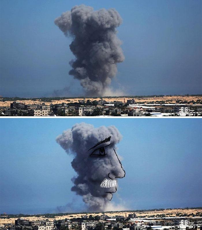gaza_israel_rocket_smoke_art_06