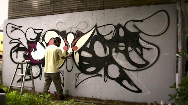 "swallowtail"" – graffiti-artwork timelapse , Hause deko"