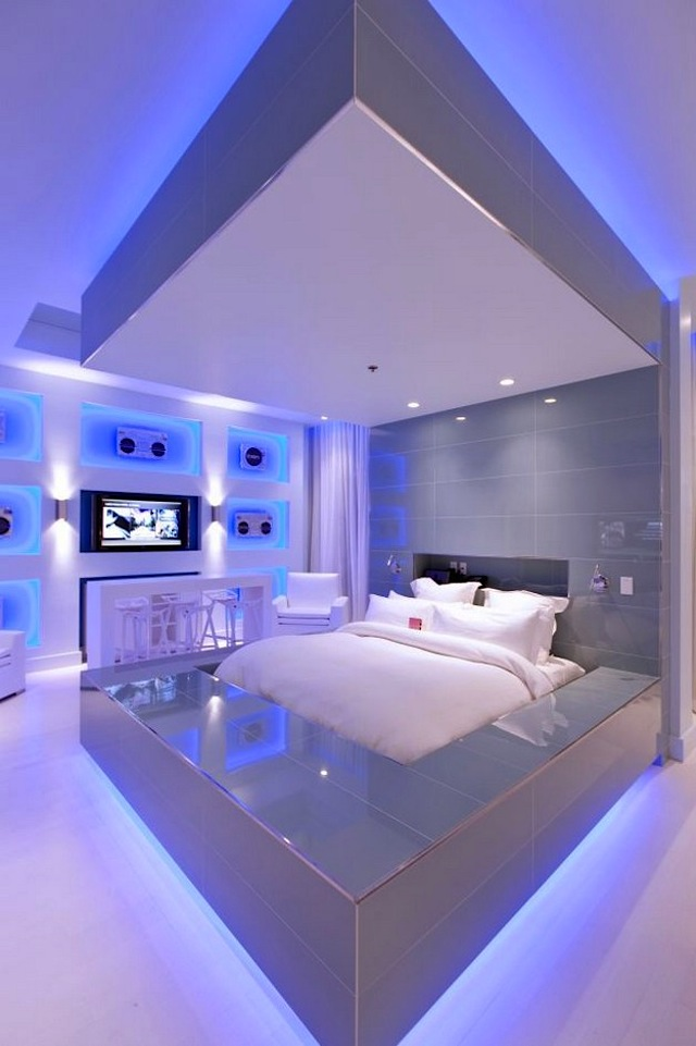 hard rock hotel in las vegas by chemical spaces (14 pictures), Schlafzimmer
