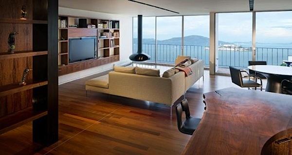 Penthouse in San Francisco – Interieur [8 Bilder]