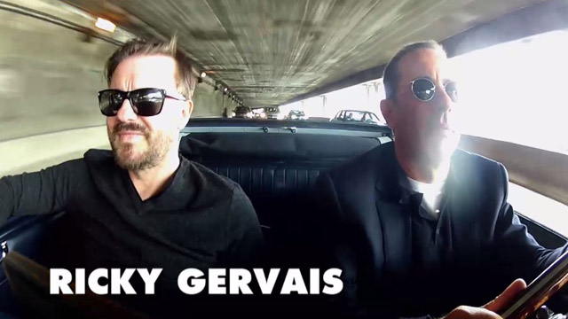 comedians in cars getting coffee with ricky gervais by jerry seinfeld episode 2. Black Bedroom Furniture Sets. Home Design Ideas