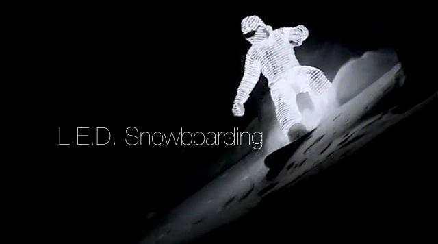 led_snowboarding