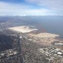 Landeanflug San Francisco. Premiere! Großartige Stadt...