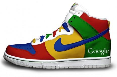 Nike Sneakers mit Firefox , Reservoir Dogs , Batman , Google
