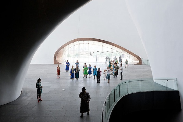 Ordos Museum in China (7 Pictures)