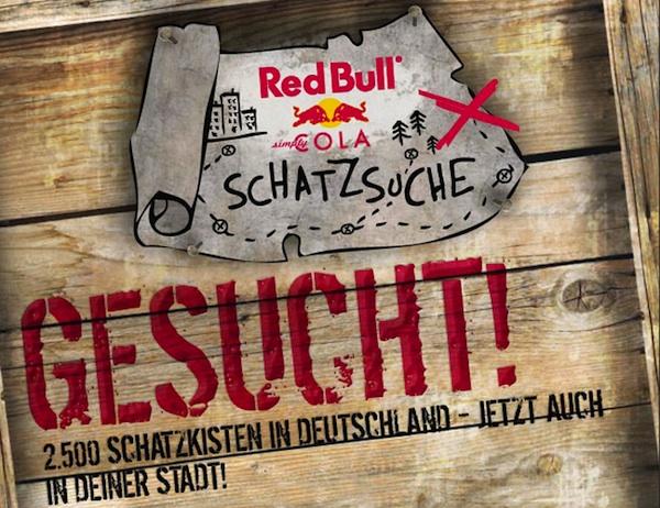 Red Bull Kühlschrank München : Die große red bull cola schatzsuche