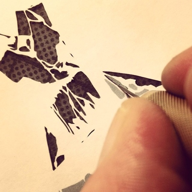 stencil art_miniature_5
