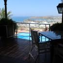 Ausblick vom Restaurant auf das Meer