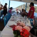 Essen in einem Fischlokal in Gümüslük