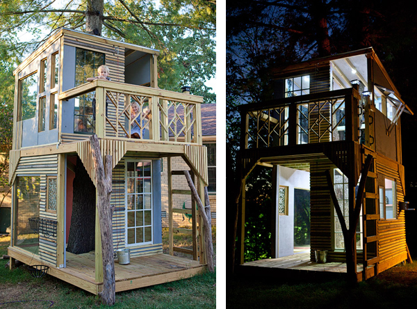 Trendig Shaker Style Treehouse IP25