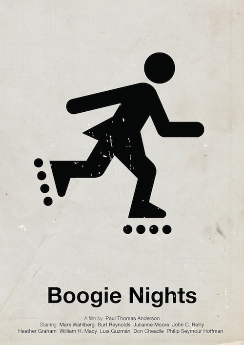 pictogram movie posters 10 piktogramme filmposter